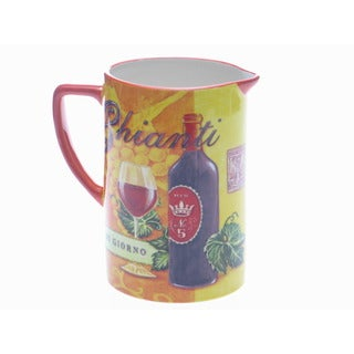 Certified International 'Tuscan Table' Pitcher