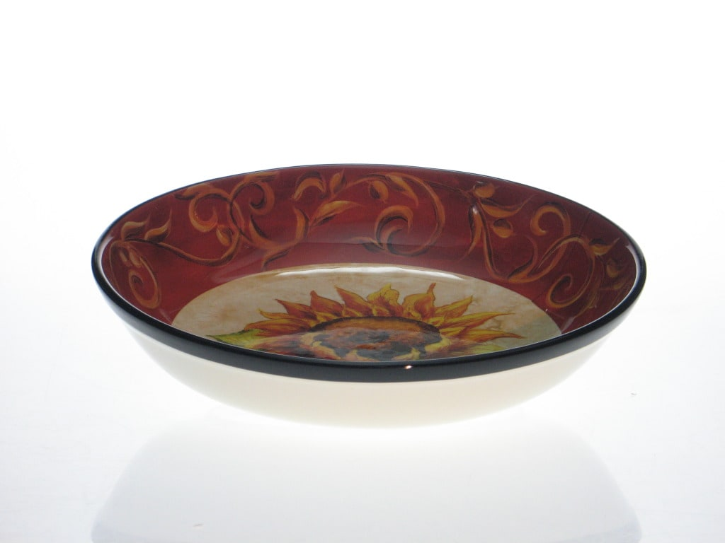 Certified International 'Tuscan Sunflower' 13-inch Pasta/ Serving Bowl