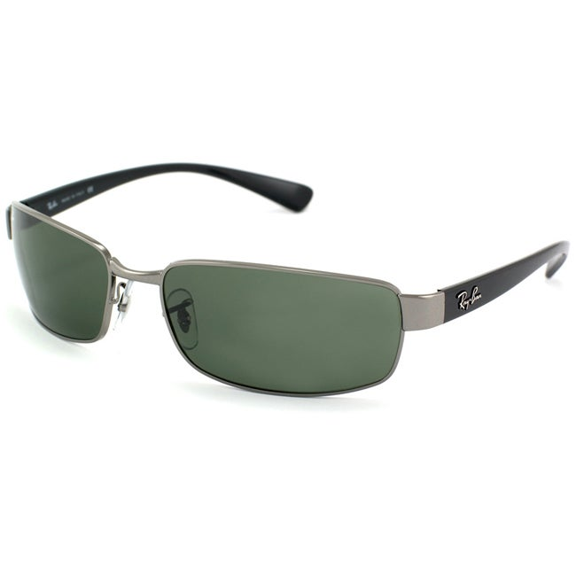 3bfabf98a4 Shop Ray-Ban Women s RB3364 004 Gunmetal Sunglasses - Free Shipping Today -  Overstock - 6528278