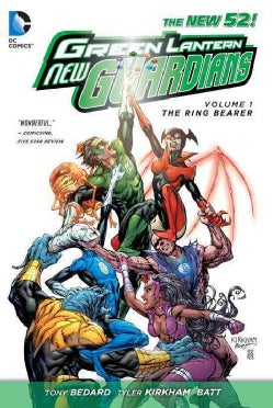 Green Lantern New Guardians 1: The Ring Bearer (Hardcover)