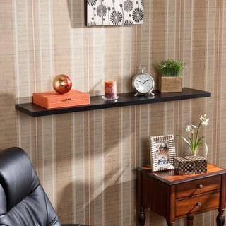 Harper Blvd Vermont 48-inch Black Floating Shelf - Thumbnail 0