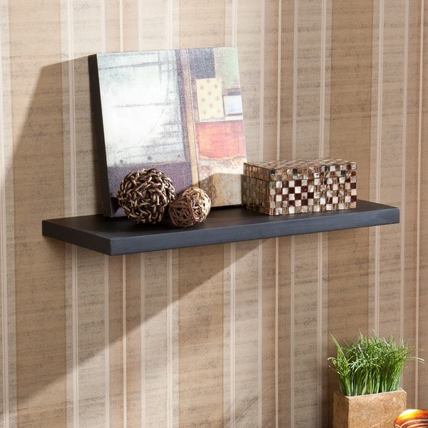 Harper Blvd Vermont 24-inch Black Floating Shelf
