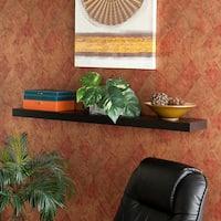 Clay Alder Home Sorlie 48-inch Stylish Black Floating Shelf