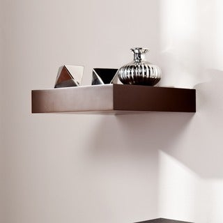 Harper Blvd Tampa 10-inch Espresso Floating Shelf