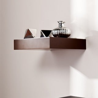 Harper Blvd Tampa 10-inch Espresso Floating Shelf