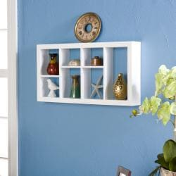 Harper Blvd The Felson 24-inch White Display Shelf