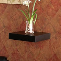 Clay Alder Home Hi-Line 10-inch Black Laminated MDF Floating Shelf