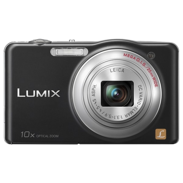 Panasonic Lumix DMC-SZ1 16.1 Megapixel Compact Camera - Black