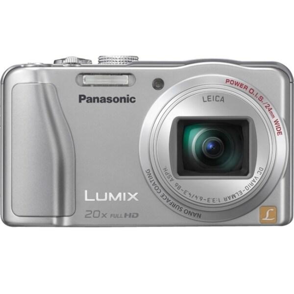Panasonic Lumix DMC-ZS20 14.1 Megapixel Compact Camera - Silver