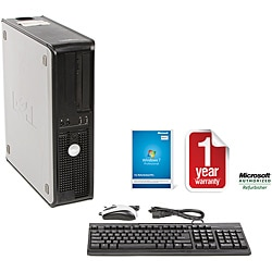 Dell Optiplex 755 Intel Core 2 Duo 2.33GHz CPU 4GB RAM 160GB HDD Windows 10 Pro Desktop Computer (Re