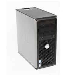 Dell Optiplex 755 Intel Core 2 Duo 2.33GHz CPU 4GB RAM 250GB HDD Windows 10 Pro Minitower PC (Refurbished) - Thumbnail 1