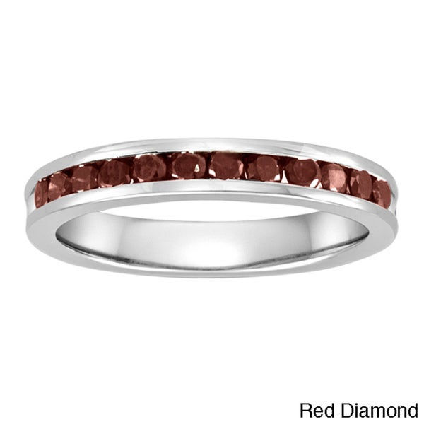 Sterling Silver 1/2ct TDW Diamond Anniversary Band