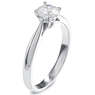 14k Gold 1/2ct TDW Diamond Solitaire Engagement Ring (K-L, I2-I3)