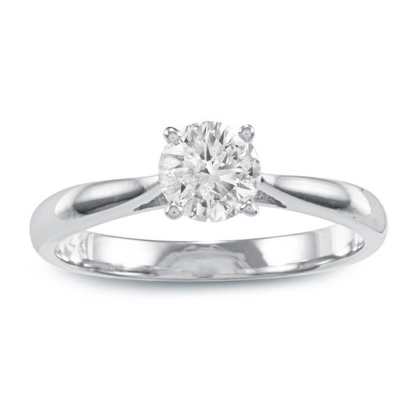 14k Gold 1ct TDW Diamond Solitaire Engagement Ring (J-K, I2-I3)