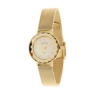 Skagen Women's 456SGSG Gold Plated Watch