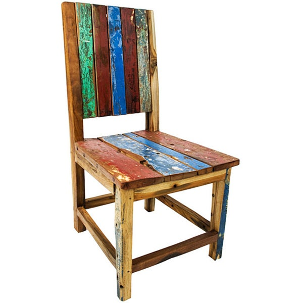 Ecologica Reclaimed Wood Chair - Ecologica Reclaimed Wood Chair - Free Shipping Today - Overstock