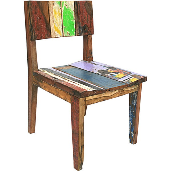 Ecologica Reclaimed Wood Dining/ Desk Chair