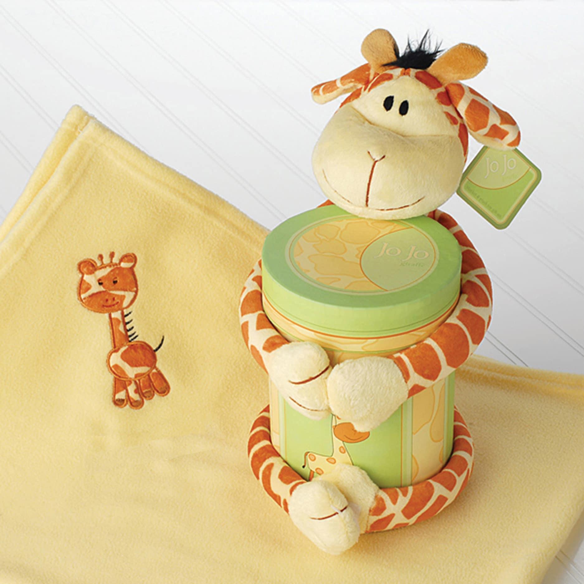 Baby Aspen 'Jo Jo Giraffe' 2-piece Plush Gift Set