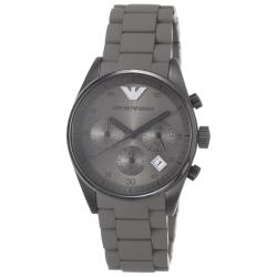 Emporio Armani Women's AR5951 'Sport' Brown Silicone Bracelet Watch