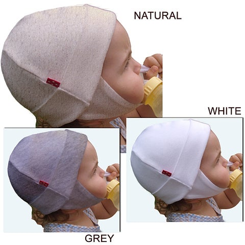 Dots on Tots 100 Percent Organic Cotton Baby and Toddler Ear Flap Hat