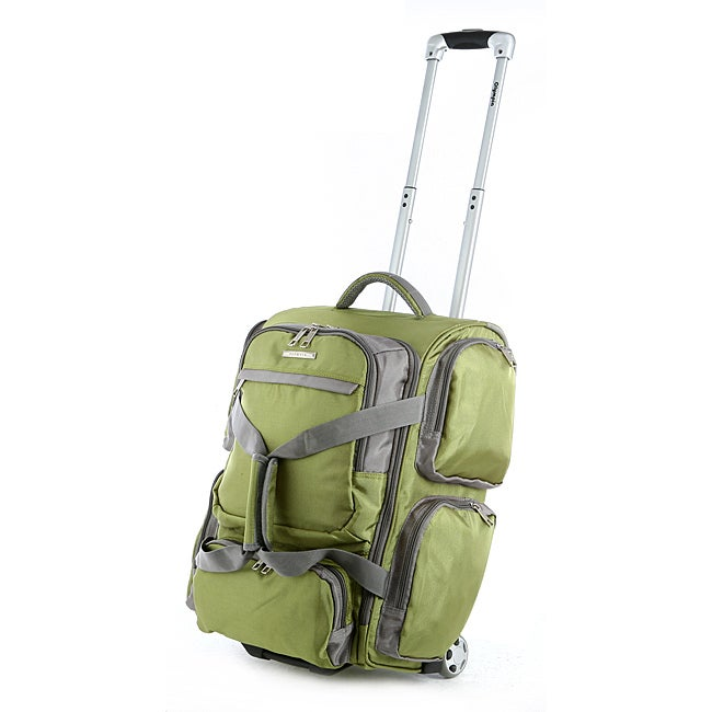 Olympia Casual Sports Lime 22-inch Carry-On Upright