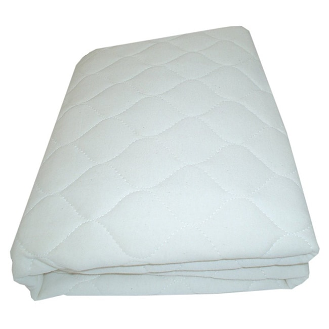 ABC Quilted Crib and Toddler Mattress Pad