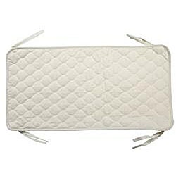 ABC Quilted Crib and Toddler Mattress Pad - Thumbnail 1