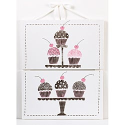 Cotton Tale Cupcake Wall Art