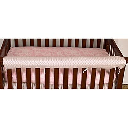 Cotton Tale Girl's Heaven Sent Crib Rail Guard - Thumbnail 0