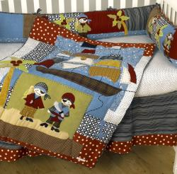 Cotton Tale Pirates Cove 8-piece Crib Bedding Set - Thumbnail 1