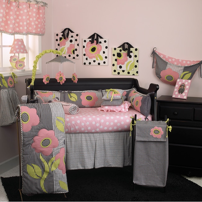 Shop Cotton Tale Poppy 8 Piece Crib Bedding Set Free Shipping Today Overstock 6532245