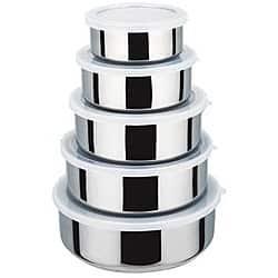 KitchenWorthy 15-piece Stainless Steel Kitchen Storage Bowl Set (Case of 24)|https://ak1.ostkcdn.com/images/products/6532283/KitchenWorthy-15-piece-Stainless-Steel-Kitchen-Storage-Bowl-Set-Case-of-24-P14115866.jpg?impolicy=medium