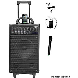 Pyle 500 Watt Dual-channel Wireless Portable PA System