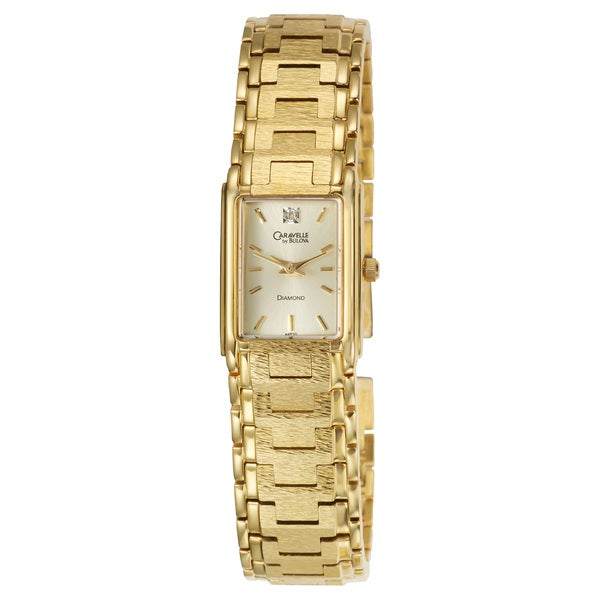 Bulova Women's 'Caravelle' Diamond Accented Watch