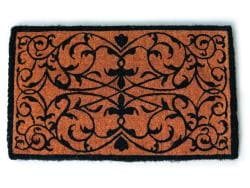 Iron Grate Rectangle Extra-thick Hand Woven Coir Doormat