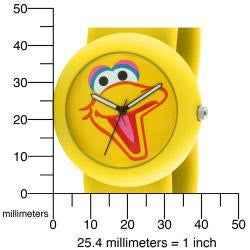 Sesame Street Kids' Big Bird Yellow Slap Watch