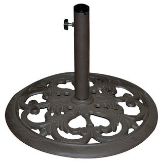TropiShade Cast Iron Umbrella Base
