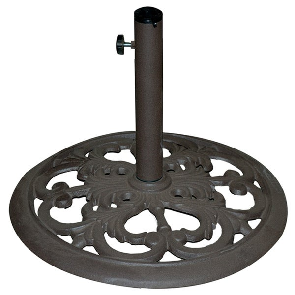 TropiShade Cast Iron Umbrella Base - Shop TropiShade Cast Iron Umbrella Base - Free Shipping Today