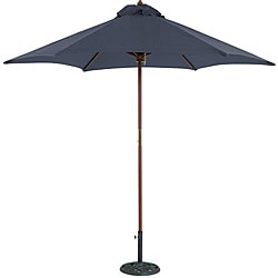 TropiShade 9-foot Blue Umbrella Shade