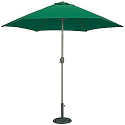TropiShade 9-foot Green Aluminum Bronze Market Umbrella