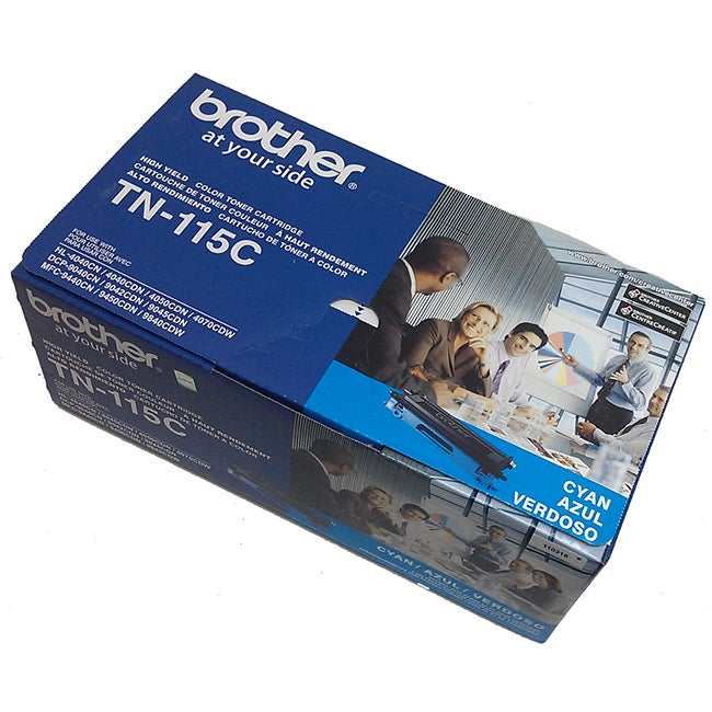 Brother TN115 Non-refillable Cyan Laser Printer Toner Cartridge