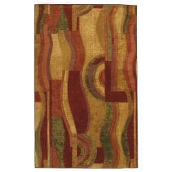 Mohawk Home New Wave Picasso Wine (5' x 8')
