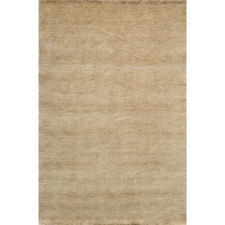 "Loft Studio Wheat Hand-Loomed Wool Rug (3'6"" x 5'6"")"