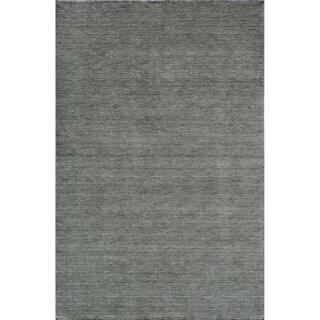 Loft Studio Blue Lagoon Hand-Loomed Wool Rug (7'6 x 9'6)