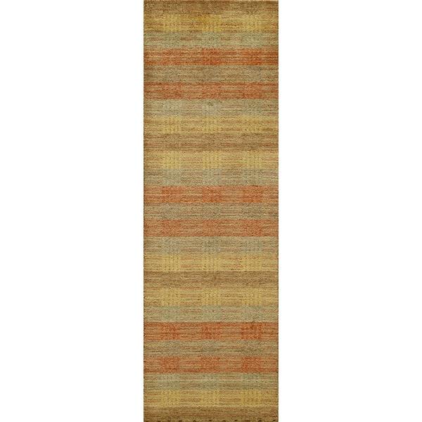 Momeni Gramercy Hand-Loomed Wool Runner Rug (2'6 X 8') - multi