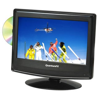 QuantumFX 13.3-inch AC/DC 1080p LED TV/ DVD Player TV-LED1312D