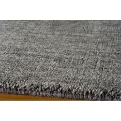 Loft Studio Charcoal Hand-Loomed Wool Rug (9'6 x 13'6)