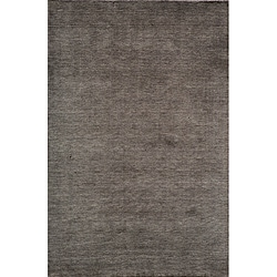 Loft Studio Charcoal Hand-Loomed Wool Rug (9'6 x 13'6)