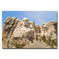 Ariane Moshayedi 'Mount Rushmore' Canvas Art