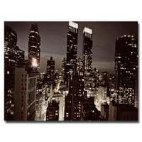 Ariane Moshayedi 'NYC After Dark' Medium Canvas Art